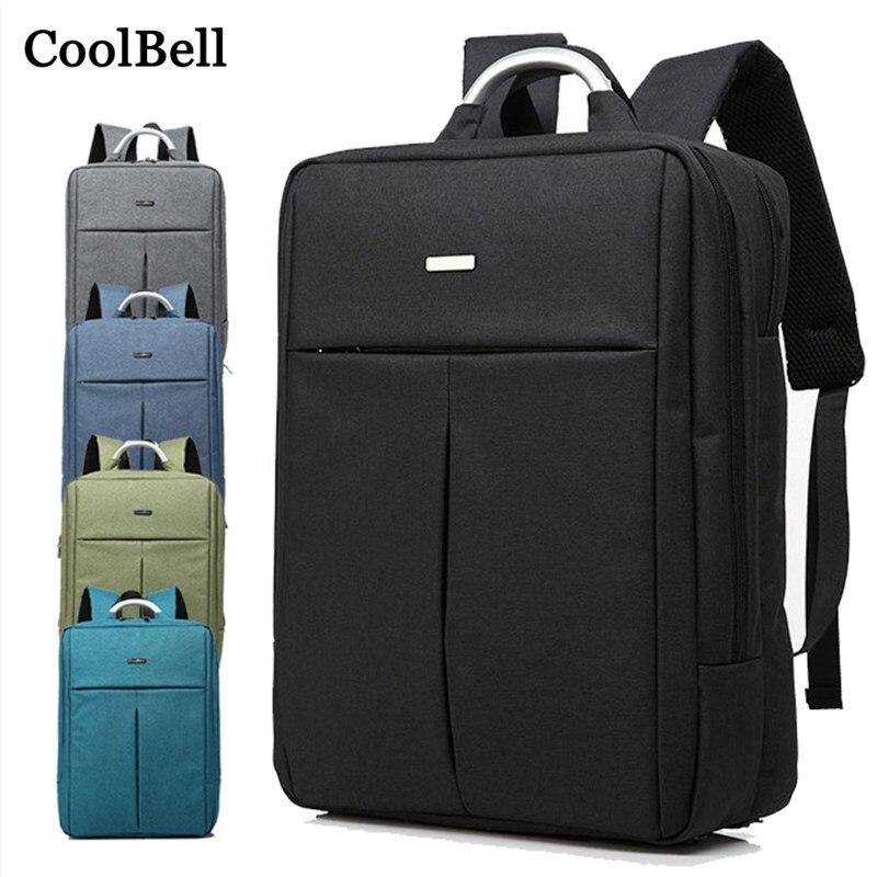 2018 nouveau sac à main imperméable à l'eau pour macbook pro Retina 15 15.4 15.6 étui pour ordinateur portable 14 sac femmes hommes sac à dos pour ordinateur portable