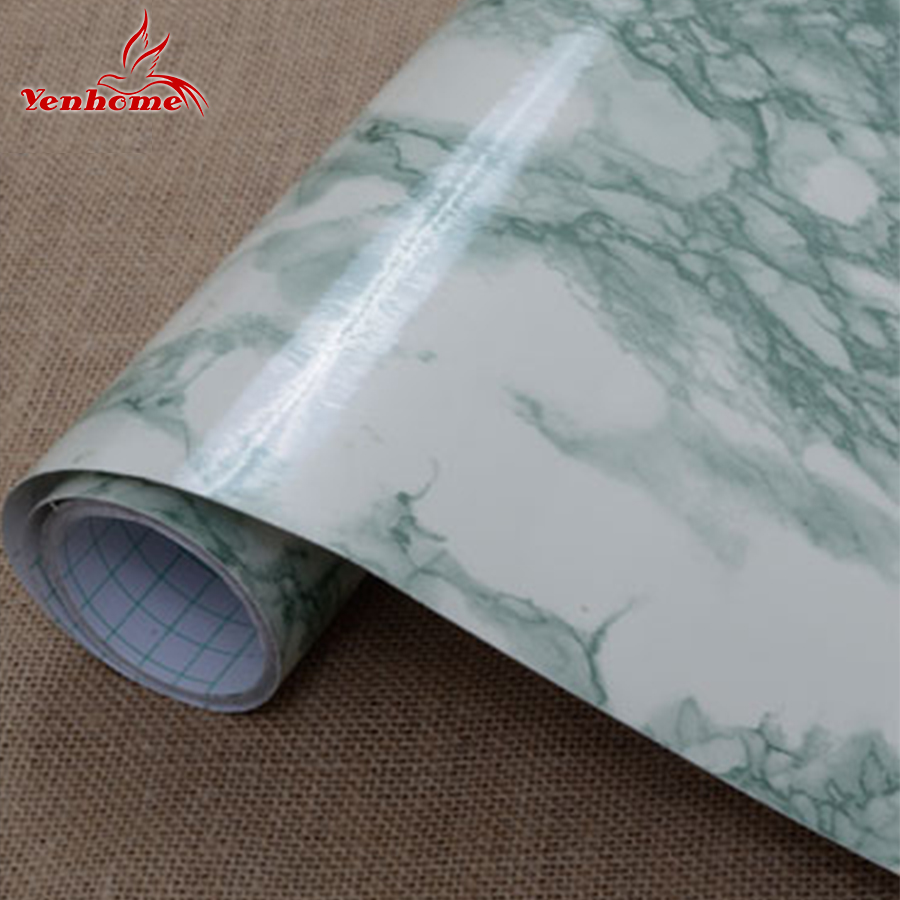 Online kopen Wholesale Marmeren tegel stickers uit China Marmeren ...