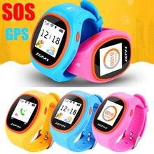 S866 1.2 «-дюймовый Android IOS 240*240 Красочные GPS Smartwatch для Слежения Дети Смотреть Дети Безопасности SOS FW1S