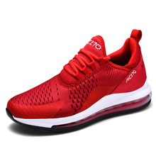 Brand New Running Shoes For Men Air Cushion Mesh Breathable Wear-resis