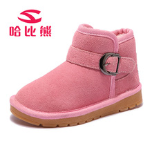Children Boots Genuine Cow Leather Russia Winter Warm Boots -30 Degree Waterproof Kids Shoes Girls Boys Snow Boots Toddler Shoes