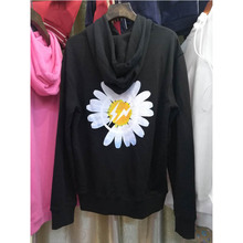 2019 Peaceminusone Hoodies Shasta Daisy Logo High-quality Print Hoodie Men Women Sweatshirts