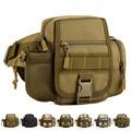 Military 1000D Nylon New Men Fanny Waist Pack Belt Travel Assault Molle Vintage Designer Messenger Shoulder Water Bottle Bag