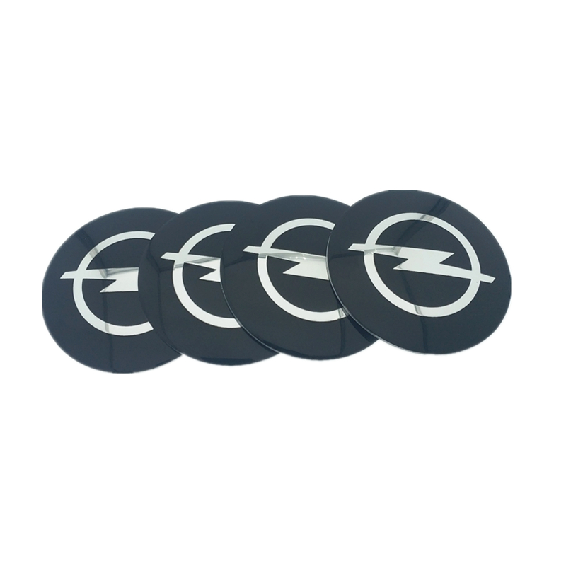 Image 2 - 4pcs 56.5mm 65mm For Renault Honda BMW Mercedes Benz Toyota HYUNDAI PEUGEOT Car Wheel Hub Core LOGO Emblem Sticker Car styling-in Car Stickers from Automobiles & Motorcycles