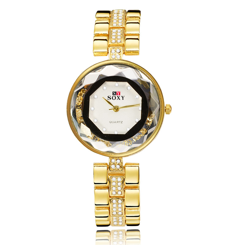 2016 New Hot sell Women Dress Watches Top Luxury Brand SOXY Fashion Lady Gift Rhinestone designer Relogio Feminino