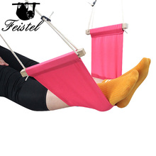 цена на Mini office foot Rest Stand Desk Feet Hammock/Office Foot Hammock Stands Adjustable Desk Feet Hammock under the desk
