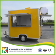 KN-250 mobile food carts/trailer/ ice cream truck/snack food carts customized for sale with free shipping