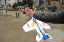 Elastic light plane Flash an arrow Birds flying toys toys for children