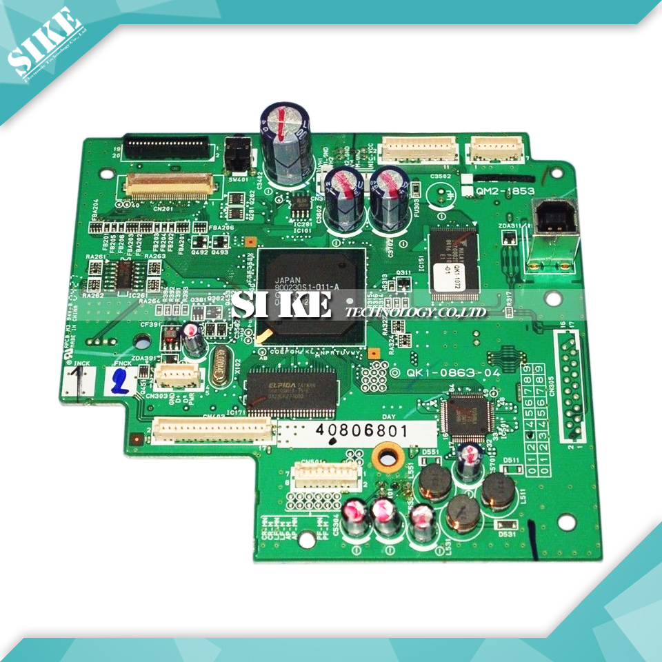 Logic Main Board For Canon IP5000 IP 5000 Formatter Board Mainboard QM2-1853 (QK1-0803-04) logic main board for canon mp170 mp 170 formatter board mainboard qm2 3210