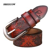 Cinto винтажный стильный ремень с драконом, мужские роскошные ремни из натуральной кожи для мужчин,, дизайнерские мужские ремни с пряжкой высокого качества