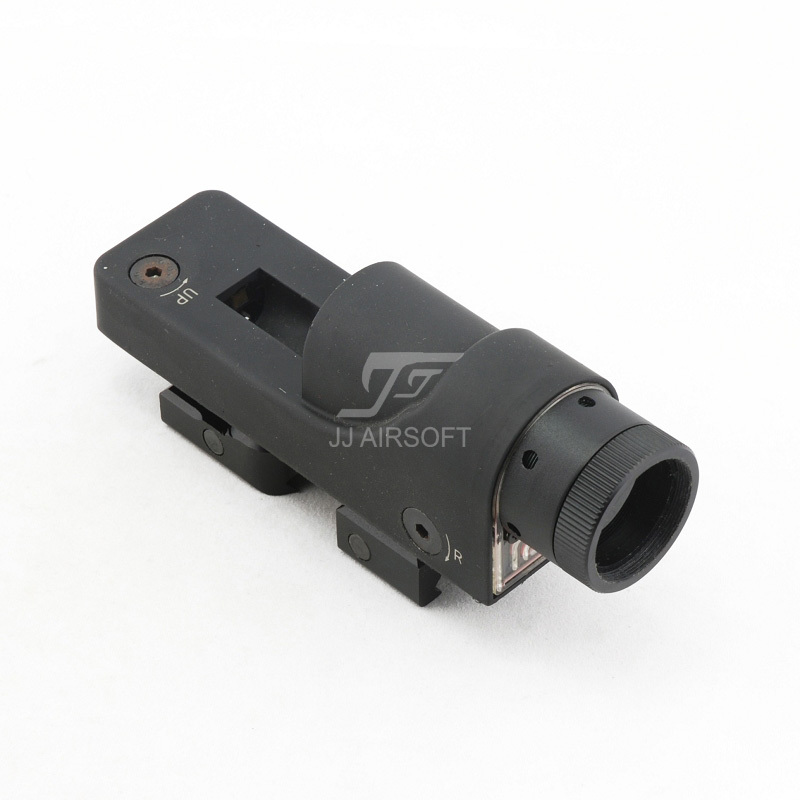JJ Airsoft 1x24 Reflex Red Dot (Svart) RX06: Reflex Triangle Reticle GRATIS SHIPPING (ePacket / HongKong Post Air Mail)