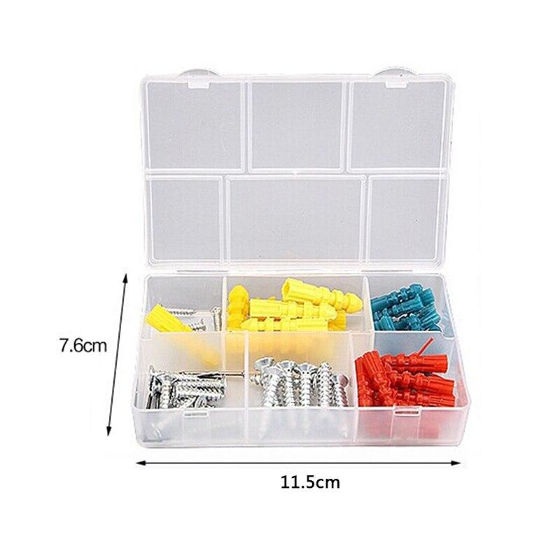 102 шт Электрический набор ручных инструментов, коробка, общий набор инструментов для ремонта дома с пластиковым ящиком для инструментов, чехол для хранения, торцевой ключ, отвертка - 6