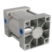 SC 100*25/100mm диаметр 25mm Ход Компактный двойного действия Пневматика цилиндра