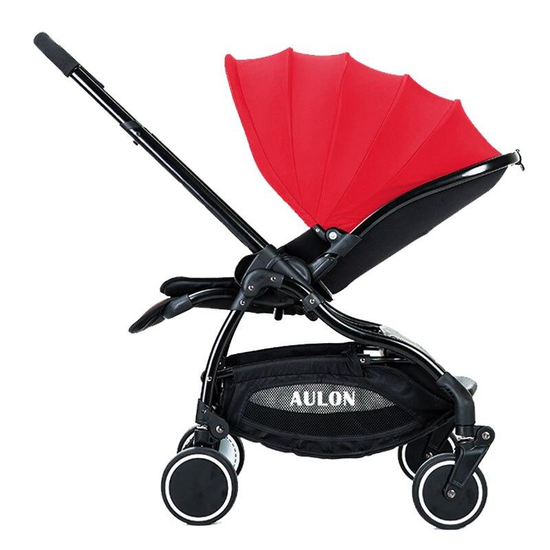 Aulon fortæller baby klapvogn paraply bil lys 4runner suspension folding barn baby bil