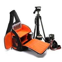 TOP POWER Hot Sale Famous Brand Waterproof Camera Bag Single Shoulder Bag Fashion SLR Camera Video Bag Photo Sling Camera Bag