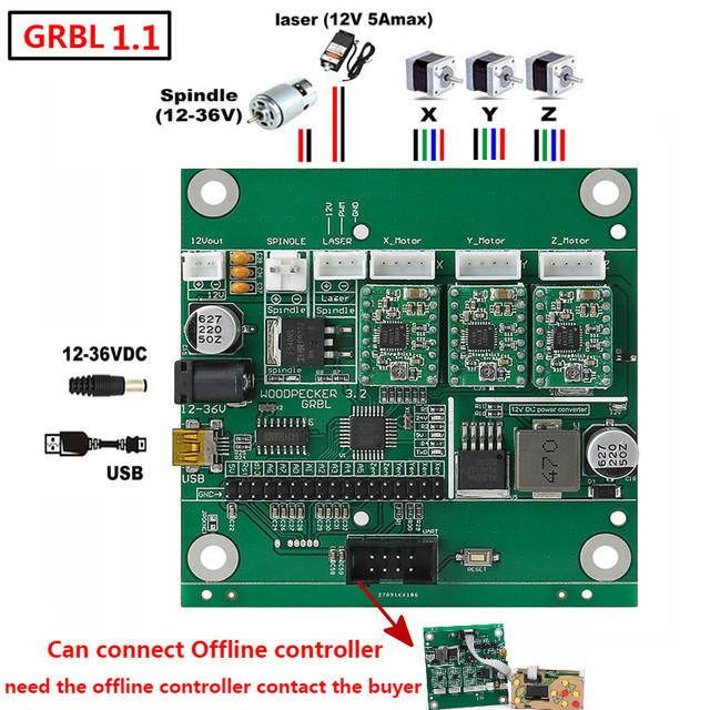 grbl 1 1 jusb port cnc engraving machine control board 3 axis