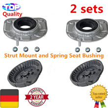 4pc Top Front Strut Mount L+R For VOLVO S80 V70 S60 XC70 XC90 850 30714968 30683637