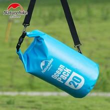 Naturehike 20L Professional 500D Waterproof Swimming Bag Snorkeling Rafting Drifting Diving Dry Bag Stuff Sack Blue Green Red