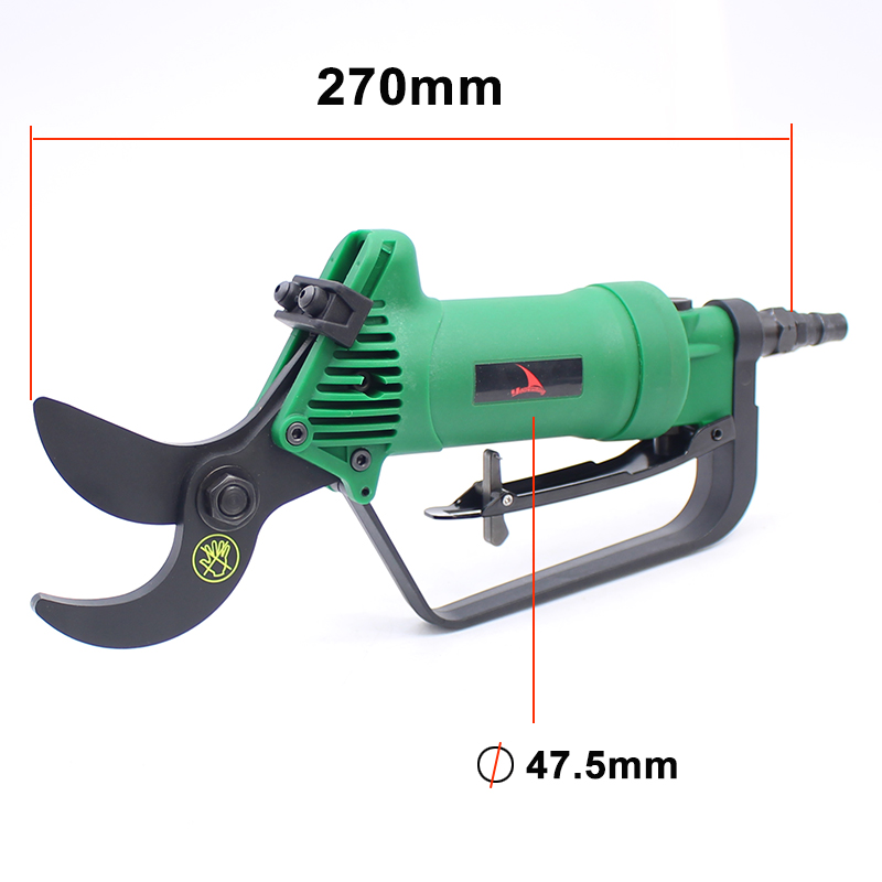 Tools : Good Quality Pneumatic Pruning Shear Branches Scissors Garden Tools Air Nipper Blade Tools