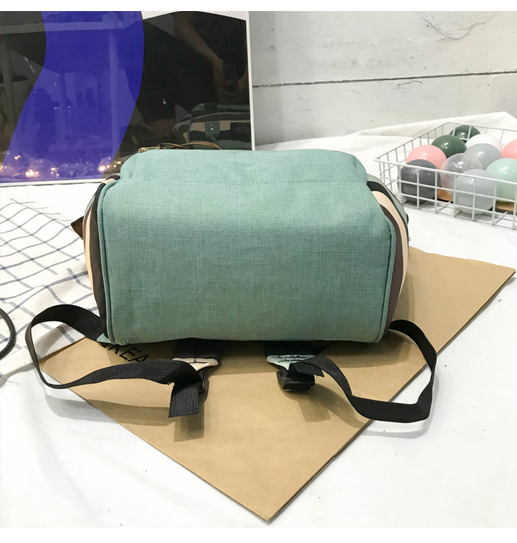 HTB1Qs7gUkvoK1RjSZFwq6AiCFXak 2019 Korean Style Women Backpack Canvas Travel Bag Mini Shoulder Bag For Teenage Girl School Bag Bagpack Rucksack Knapsack