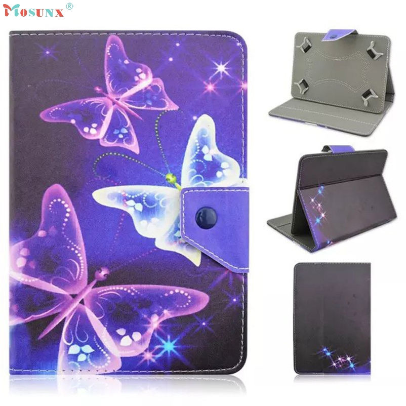 mosunx Hot Selling Universal Leather Flip Case Cover For 7 inch Android Tablet PC Gift Mar 1