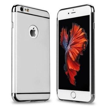 Pour iphone 6s 6 7 8 Plus étui 5 S 5 SE 7 plus mince or luxe couverture accessoires étui pour iphone 7 Plus iphone X 8 Plus étuis 10