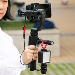 Image 2 - Zhiyun Smooth 4 stabilizzatore accessori adattatore cardanico tripla barra di prolunga per montaggio su slitta calda per Freevision vilta M Pro Moza mini S