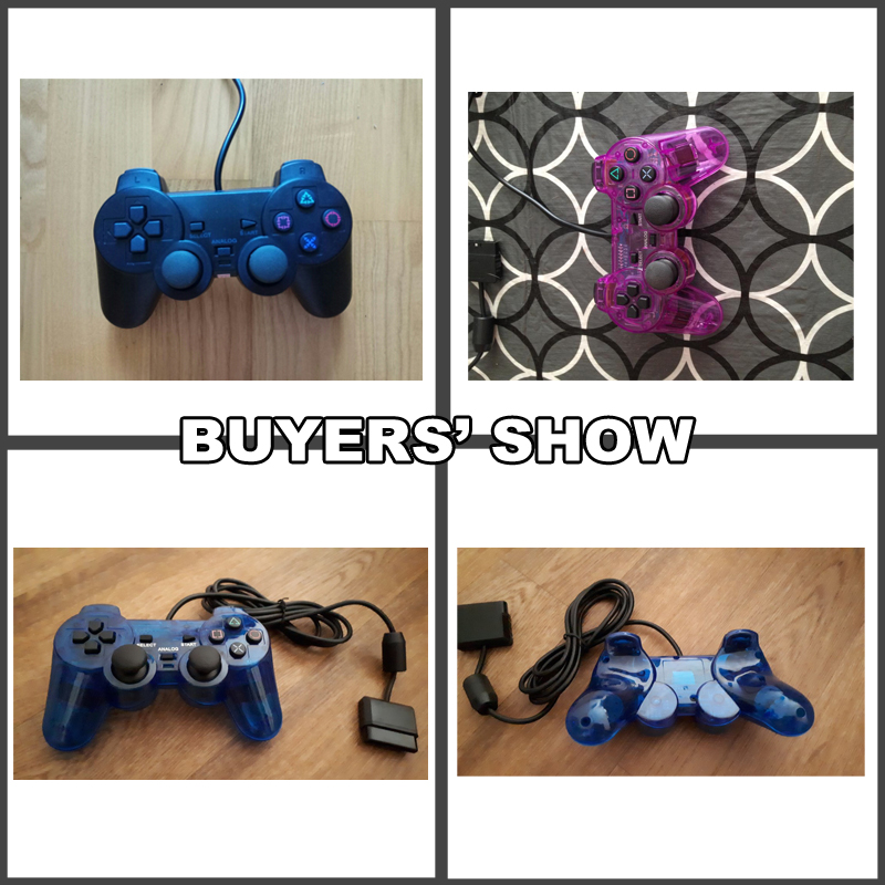 Wired Gamepad for Sony PS2 Controller for Mando PS2 PS2 Joystick for plasystation 2 Double Vibration Shock Joypad Wired Controle in Gamepads from Consumer Electronics
