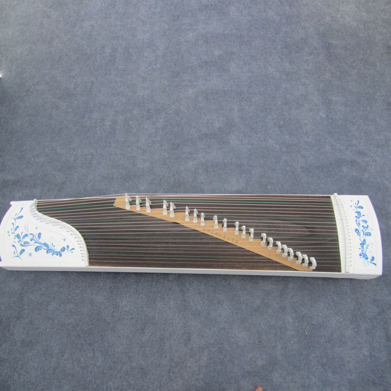 Piano Paint Series Blue And White Porcelain High-Grade GuZheng