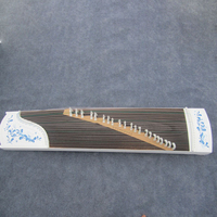 Piano Paint Series Blue and White Porcelain High Grade GuZheng