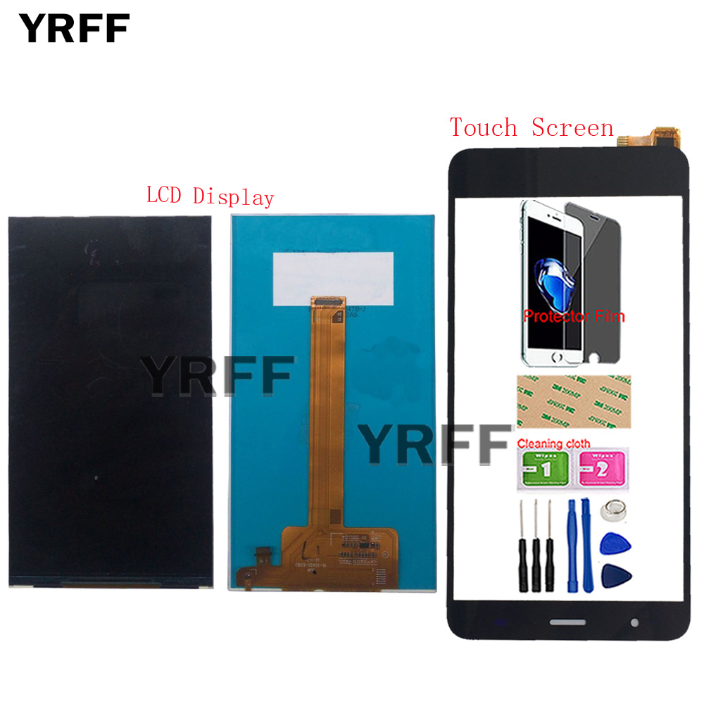 US $6 54 31% OFF Mobile LCD Display For Fly Cirrus 9 FS553 LCD Display  Touch Screen Digitizer Assembly Sensor FS 553 Phone Tools Protector Film-in