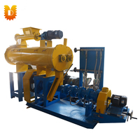 500 600kg/h Wet Way Floating Fish Feed Pellet Machine/Extruder For Animal Feed