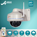 ANRAN H.264 HD Wireless 1080P IP Camera WIFI Onvif IR Outdoor Vandalproof Fixed Dome CCTV Camera Security Camera