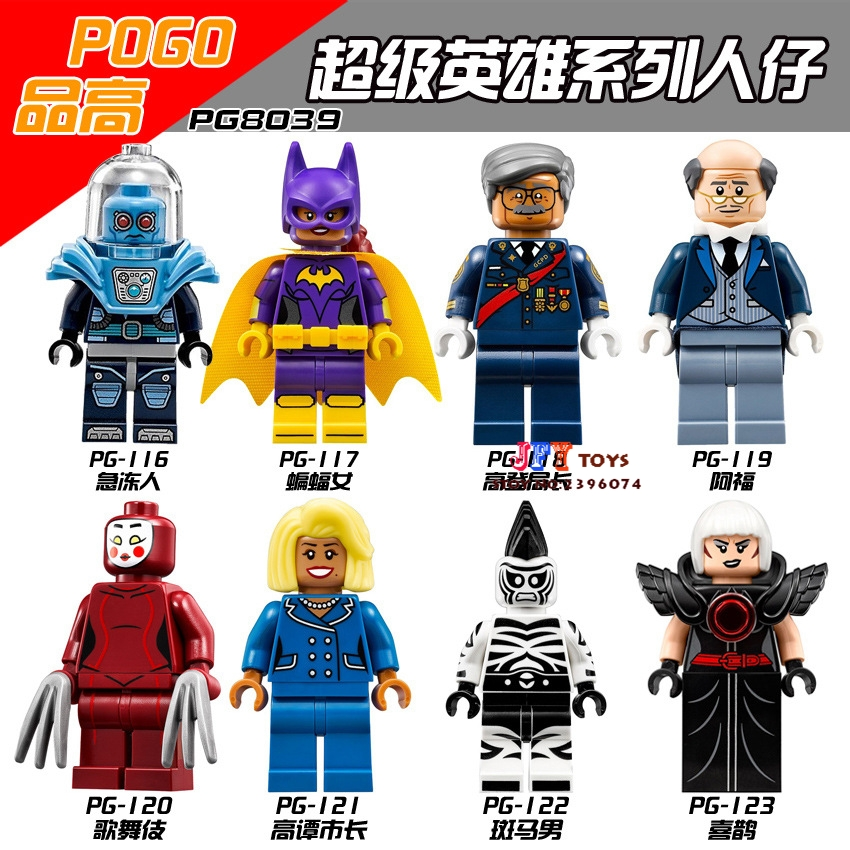 8pcs Star Wars Super Heroes Marvel Dc Comics Models Kits Batman Collection Building Blocks Bricks Toys For Children Juguetes Model Building