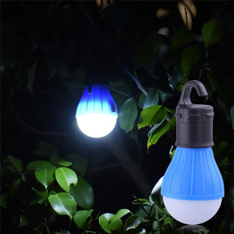 Soft Light Outdoor Hanging LED Camping Tent Light Bulb Fishing Lantern Lamp Lantaarn