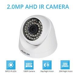 Morcembr 1080 P купол Камеры Скрытого видеонаблюдения AHD CCTV Камера 2.0MP 3,6 мм широкий AHD CCTV Крытый Камера s безопасности