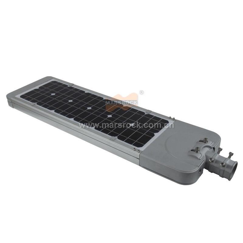 30W LED All-in-one solar street light with infrared sensor brightness sub-regulation 60W solar panel 24AH battery