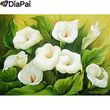 DIAPAI 100% Full Square/Round Drill 5D DIY Diamond Painting Flower landscape Diamond Embroidery Cross Stitch 3D Decor A21095 diapai 100% full square round drill 5d diy diamond painting flower landscape diamond embroidery cross stitch 3d decor a21095