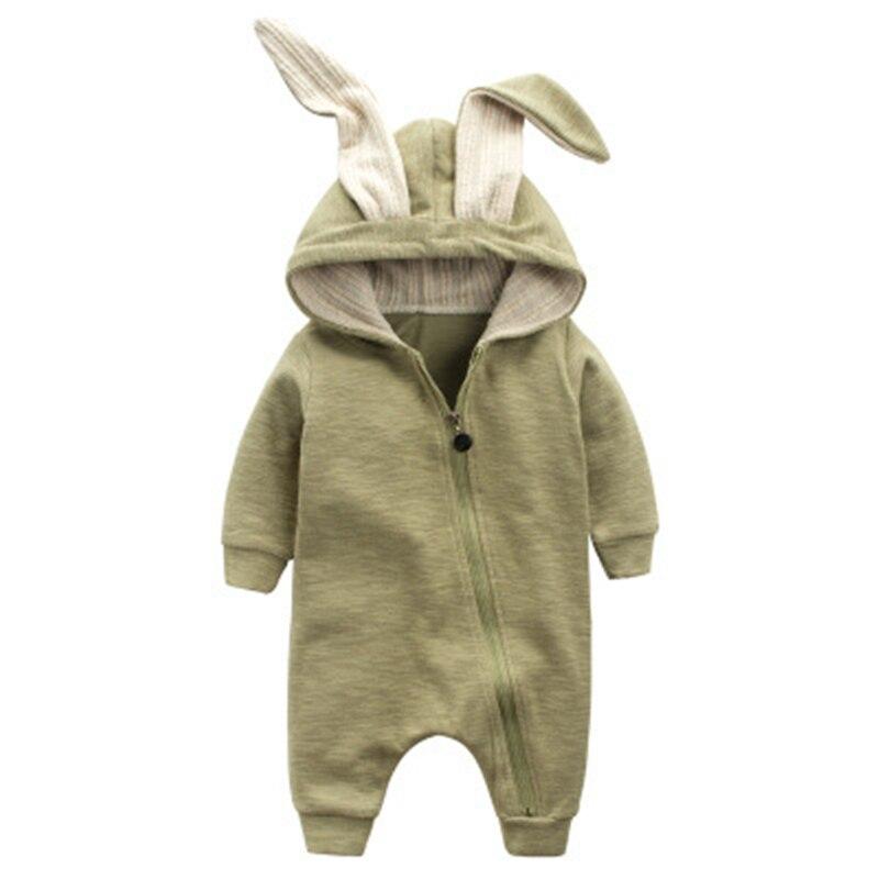 Cotton Baby Girl Clothes Wiosna Baby Rompers Cute Baby Boy Odzież - Odzież dla niemowląt - Zdjęcie 5