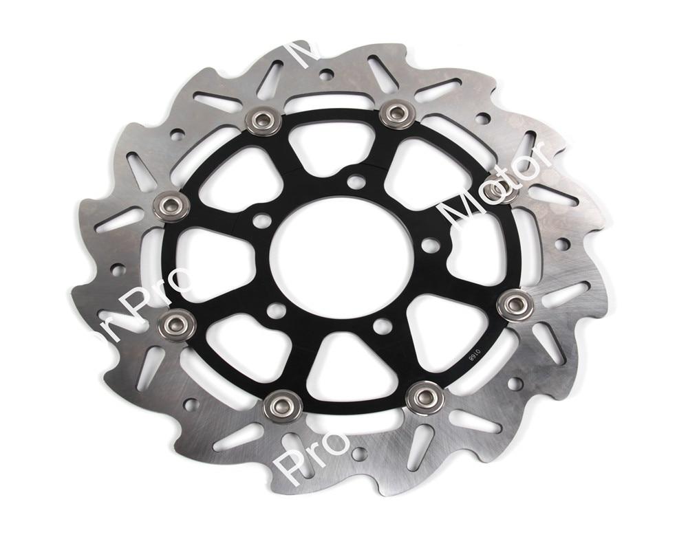 2 PCS CNC Motorcycle Front Brake Disc FOR KAWASAKI VERSYS 650 2007 2008 2009 2010 2011-2014 Z750/Z750 ABS 07-12 brake disk Rotor