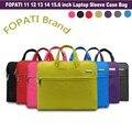 2016 Hot Fashion Laptop Bag 15.6 14 13.3 12 11.6 inch Notebook Bag Computer Sleeve for Macbook Air Pro Case Women Men Handbags