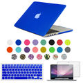 3in1 caso mate para apple macbook air pro retina 11 12 13 15 bolsa de ordenador portátil Para El Macbook de 13.3 pulgadas + Teclado + protector de pantalla