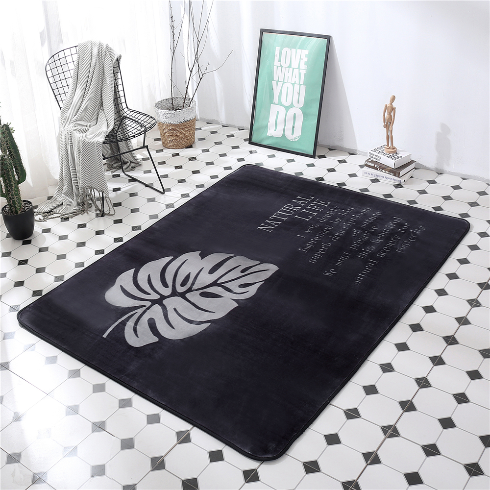 Enfants bébé jouer tapis rampant confortable Floormat microfibre velours zone tapis anti-dérapant chambre grands tapis tapis pour salon