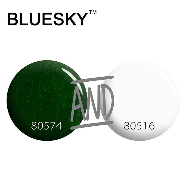Bluesky 100% Materia Prima para el Esmalte de Uñas No Picante Fáciles De Fácil En Gel Polaco
