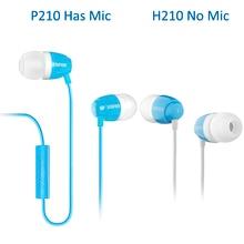 EDIFIER H210 P210 In-Ear Earphone for Mobile Phone Tablet MP3