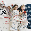 Baby knitted Blanket KAMIMI 2017 spring new baby umbrella printed 100% cotton swaddle Soft blanket Baby Bedding Set