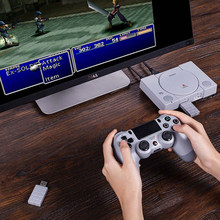 2019 New Hot 8Bitdo Wireless Bluetooth Gamepad Receiver USB Adapter For PS Classic - Grey(China)