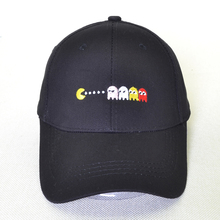 Cartoon Eat peas Dad hat100% cotton Baseball Cap Men Women Hip Hop Hats fashion Unisex Adjustable Snapback hat bone eat your peas