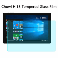 AMZDEAL 13 5 Inch 9H Tablet Tempered Glass Dustproof Anti Fingerprint Vidrio Templado For Chuwi Hi13