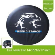 Testa d'aquila Auto di Scorta Ruota Della Copertura Della Gomma per Jeep CAMPER Camion SUV Camper Cura R16 (79 cm/31.1 inch)
